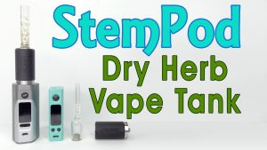 Stempod Review & Demo - Rebuildable Dry Herb Tank for 510 Mods