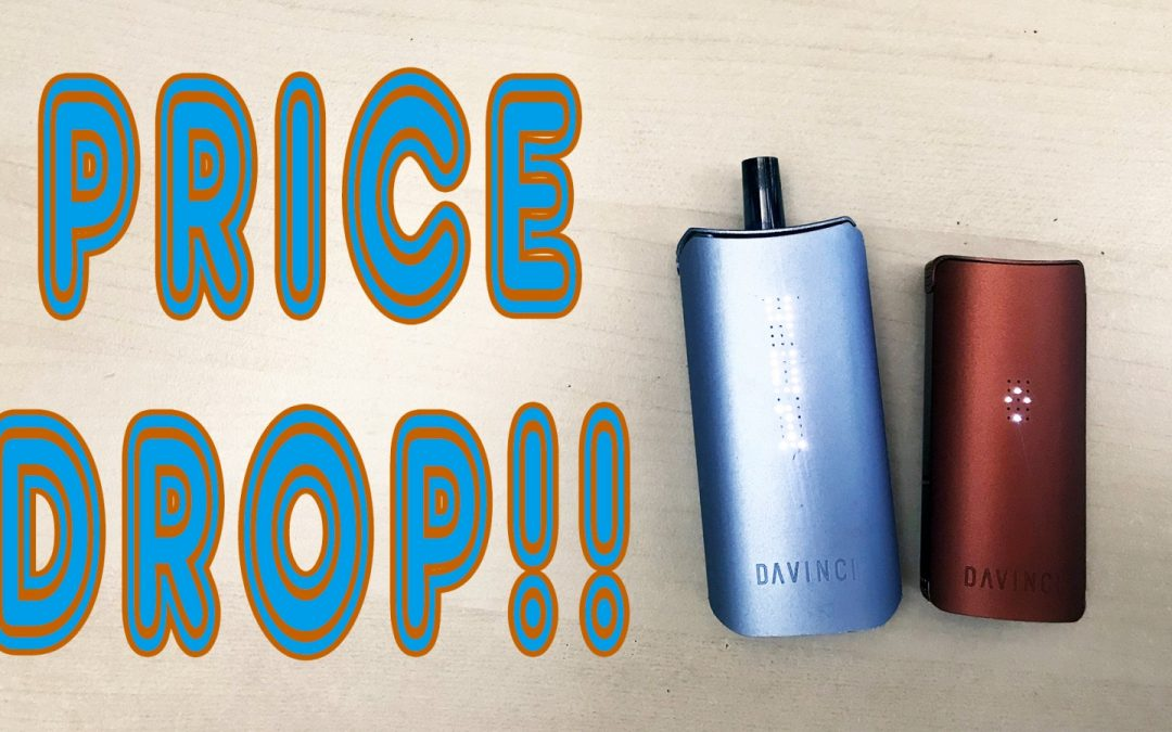 Davinci slashes prices of IQ and MiQro vaporizers