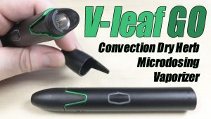 Vivant Vleaf GO - Instant On-Demand Convection Vaporizer