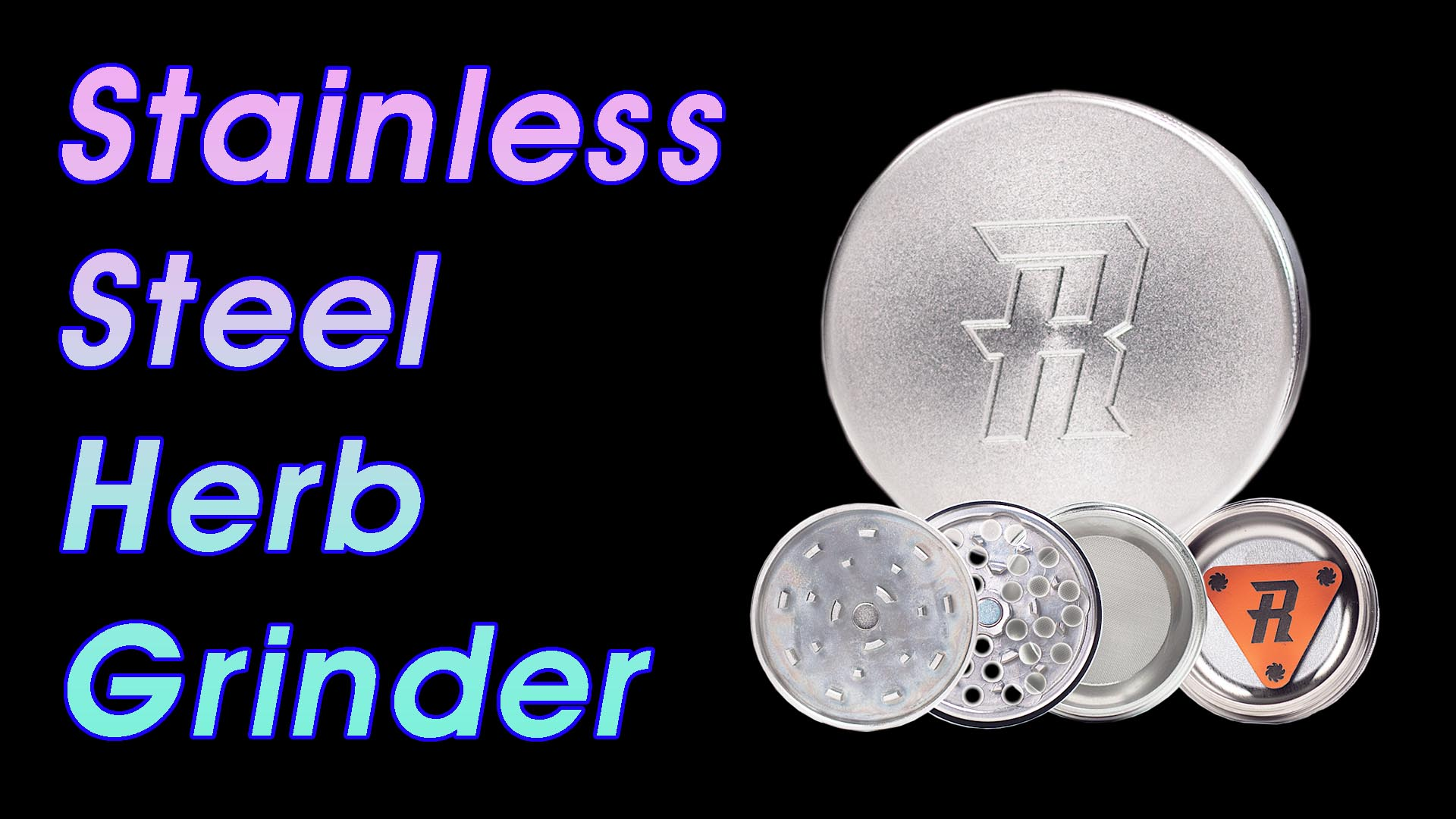 stainless steel herb grinder