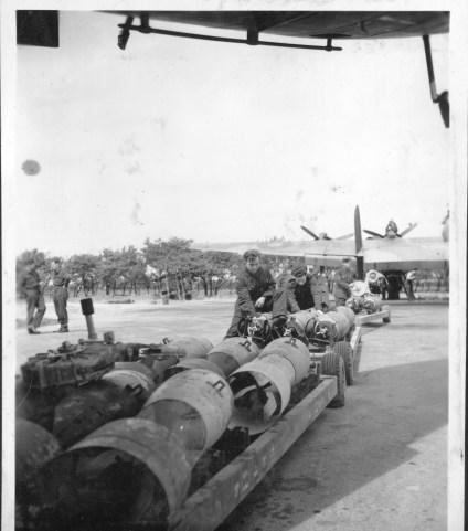 bomb trolley