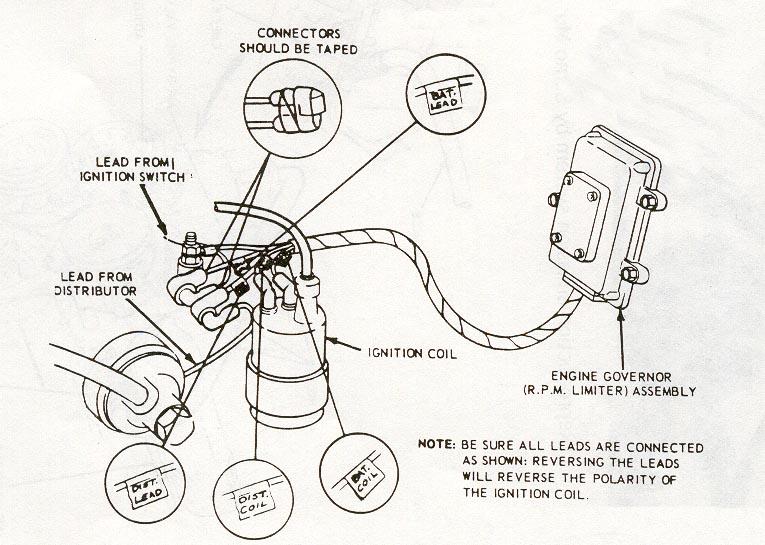 Wiring diagram for rev limiter.