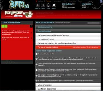 3FM Partijwijzer