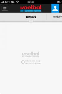 schermafbeelding VI app