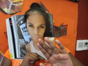 Bookface teenage experiment