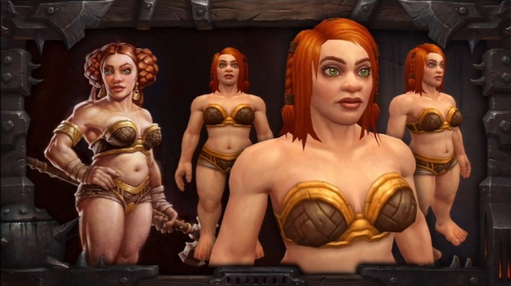 Make over voor dwergen in World of Warcraft (Warlords of Draenor)