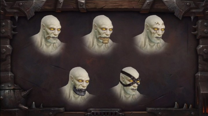 Make over voor undead in World of Warcraft (Warlords of Draenor)