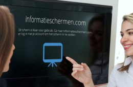 informatieschermen