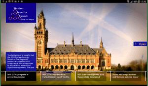 CC NSS app tablet