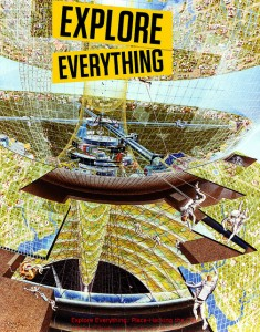 Image from NASA Ames Research Centersettlement.arc.nasa.gov/70sArtHiRes/70sArt/art.html. Text and idea from the book Explore Everything: Place-Hacking the City by Bradley L. Garrett, www.versobooks.com/books/1473-explore-everything.