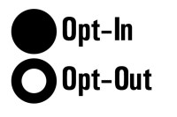 Opt in-Out