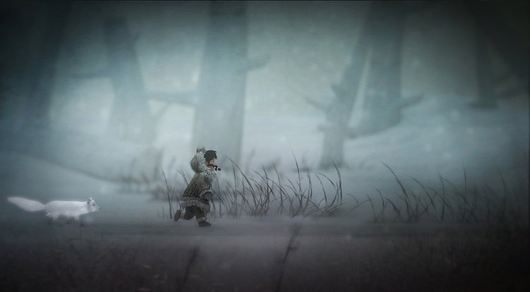Never Alone - Storytelling in de sneeuw