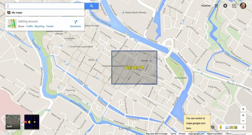 google mapc pacman ready