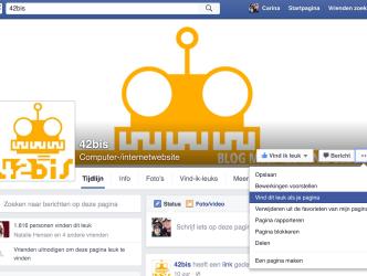 facebook pagina leuk vinden als je pagina
