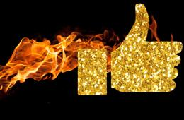 Golden_facebook_thumb_in_flames