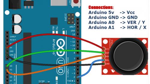 small resolution of arduino joystick module examplejoystick wiring diagram 13