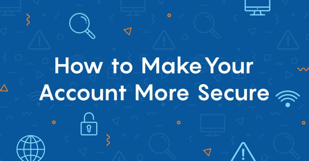 account security tips to