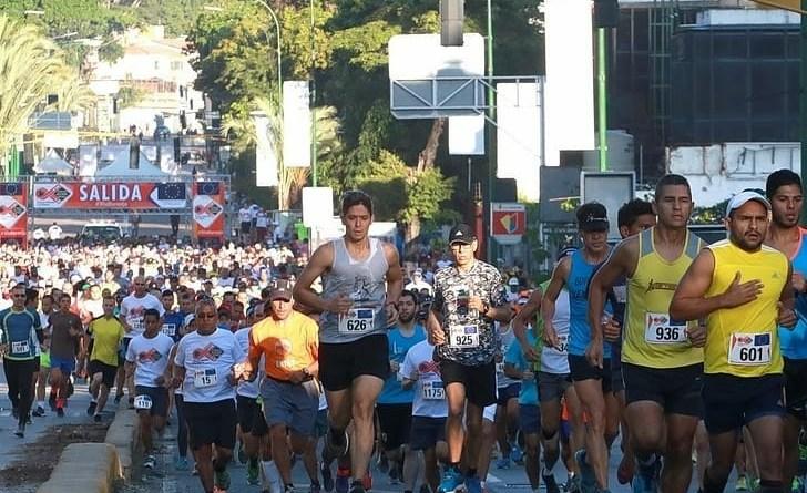 La carrera-caminata partió desde las inmediaciones de la Plaza Alfredo Sadel de Las Mercedes/Cortesía