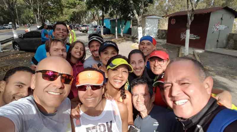 Mucha camaradería la de este domingo en el entrenamiento especial realizado en Caracas/Cortesía