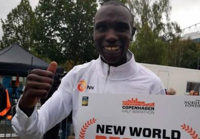 A los 26 años, Kamworor es uno de los más grandes del atletismo mundial/Twitter @cphhalf
