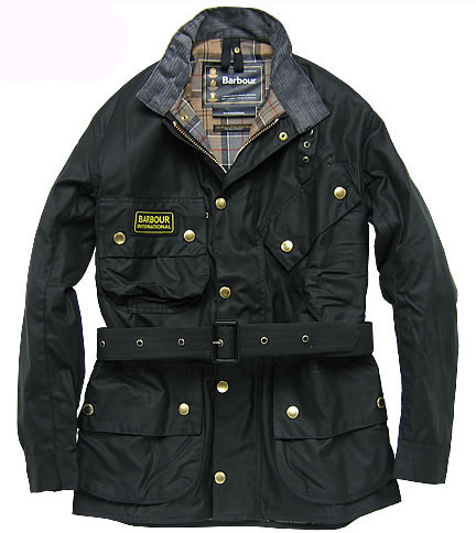 The Barbour International, in the range since 1936.