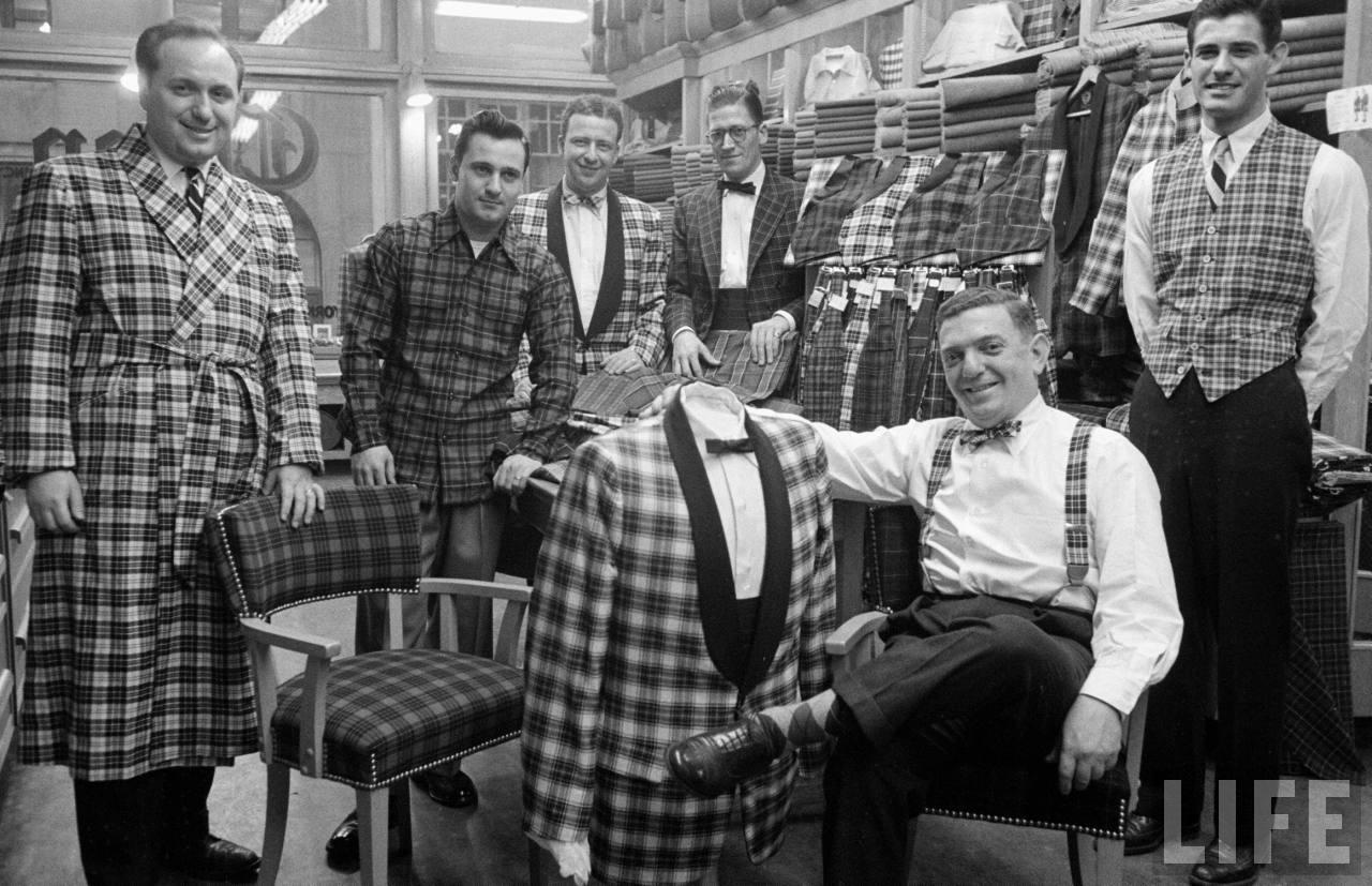 plaid menswear fashion