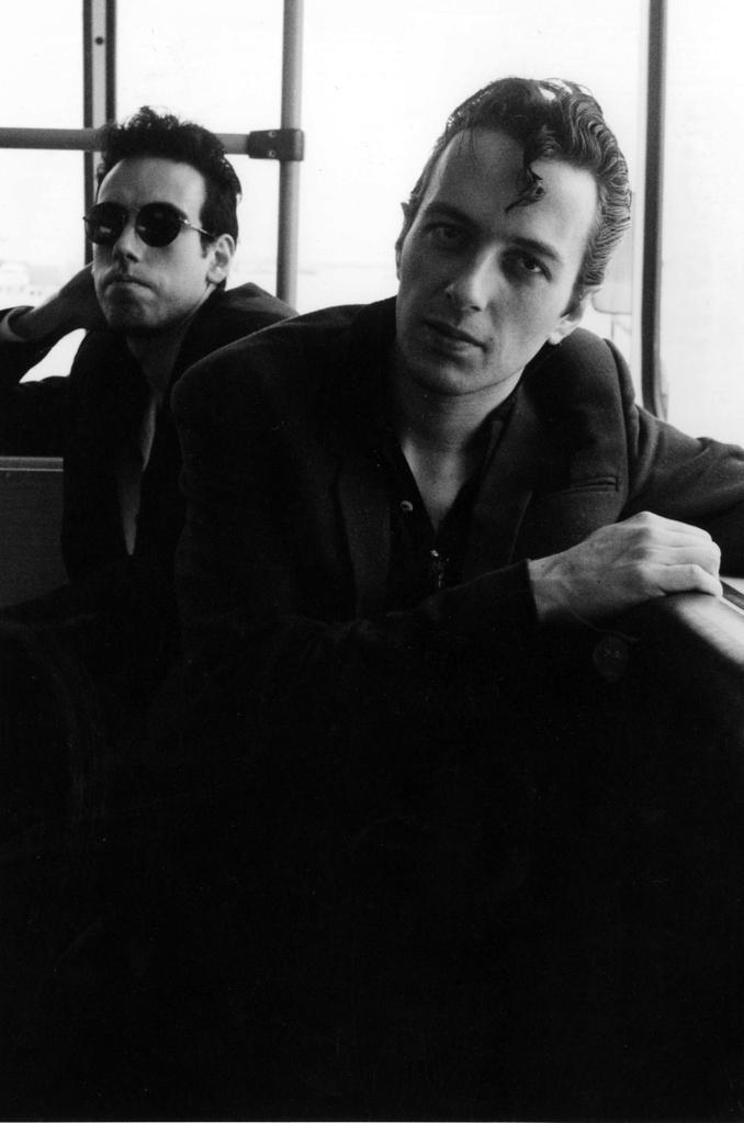 Mick Jones and Joe Strummer of The Clash