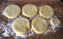12.2.16 - Brathering,Taler,Gurkensalat,Dessert (3)