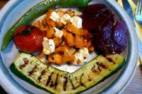 5.2.16 - Gemüse,gebackene Süßkartoffel,Rote Betesalat (12)