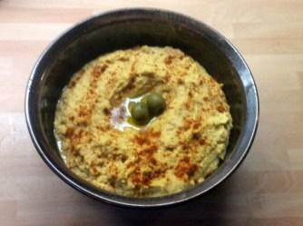 13.3.16 - Focaccia,Hummus,Salat,Obstsalat,vegan (5)