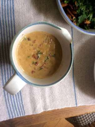 27.4.16 - Schwarzer Reis,Sauce,Feldsalat,Dessert (11)
