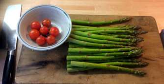 29.4.16 - Kartoffelgratin,grüner Spargel,Fenchelsalat (15)