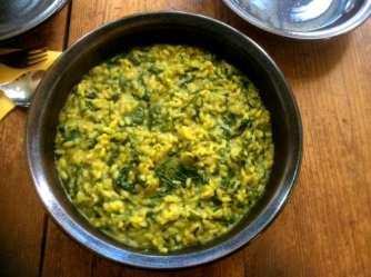 6.4.16 - Spinat Risotto,Salat,vegetarisch (15)