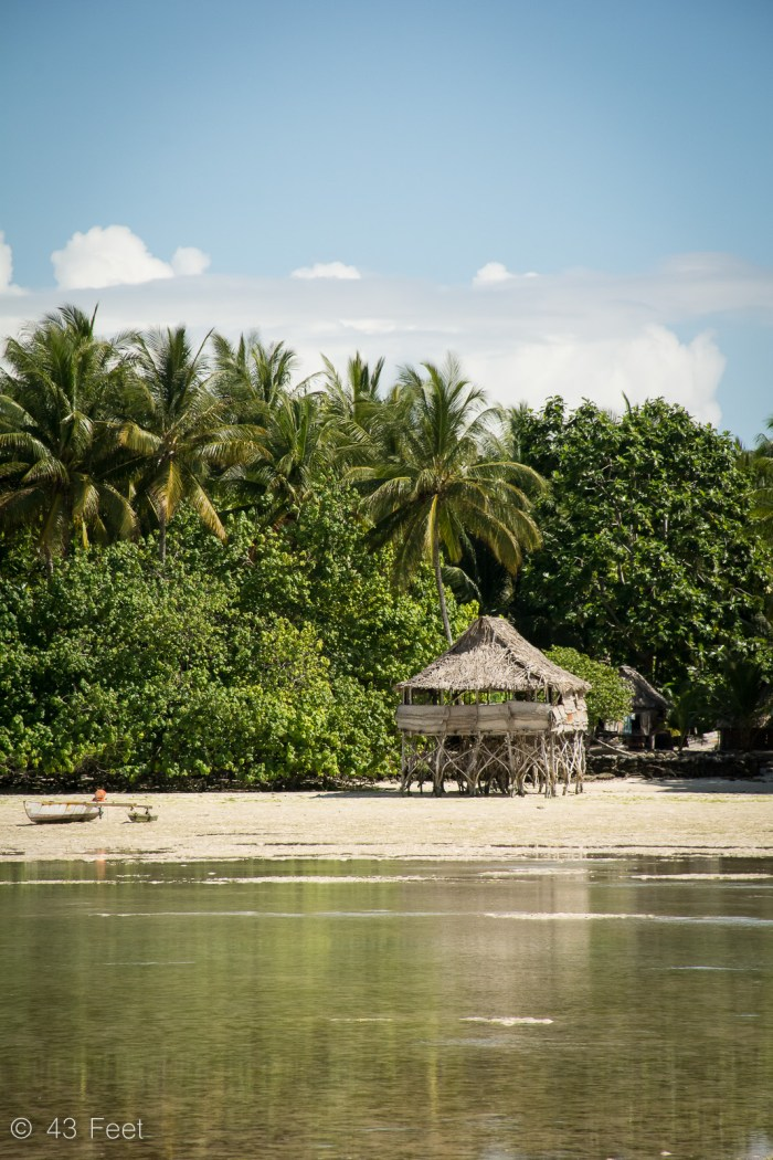 Traditional Kiribati Building