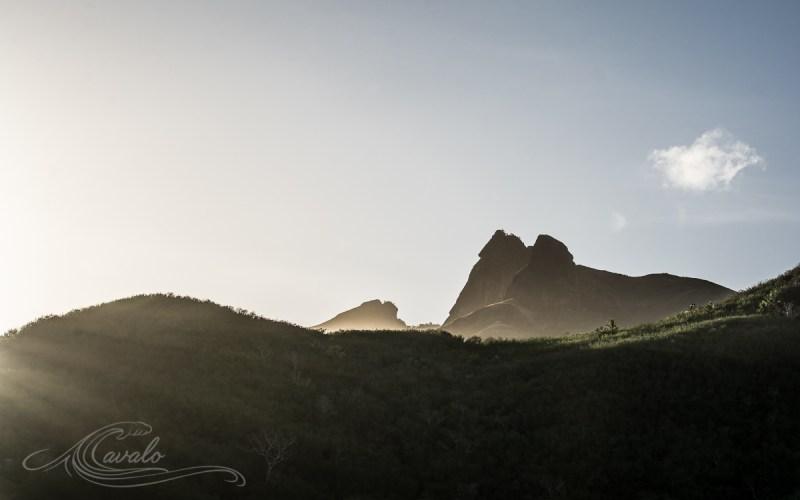 sunrise on fiji mountains yasawa