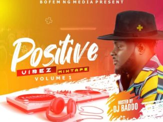 DJ Baddo - Positive Vibez Mix art
