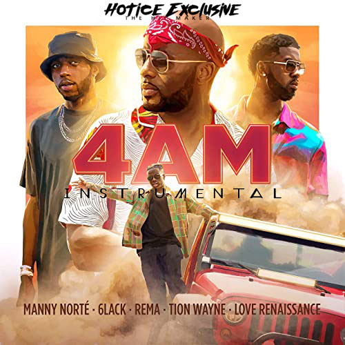Instrumental: Manny Norte - 4AM (Remake By Hotice Exclusive)
