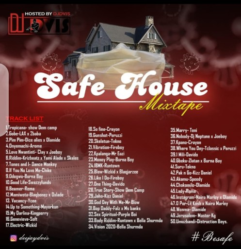 Dj Mix Dj Dvis – Safe House Viral9ja Mix