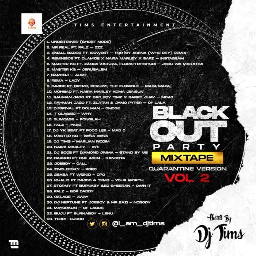 Dj Mix: DJ Tims Blackout Party Mixtape