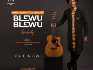 Music: Morris Makafui Ft. St. TomDavid - Blewu Blewu 'Gradually'