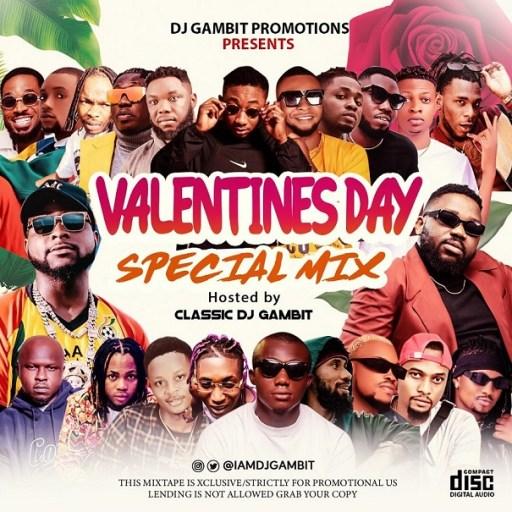 Dj Gambit - 2021 Valentines Day Special Mixtape