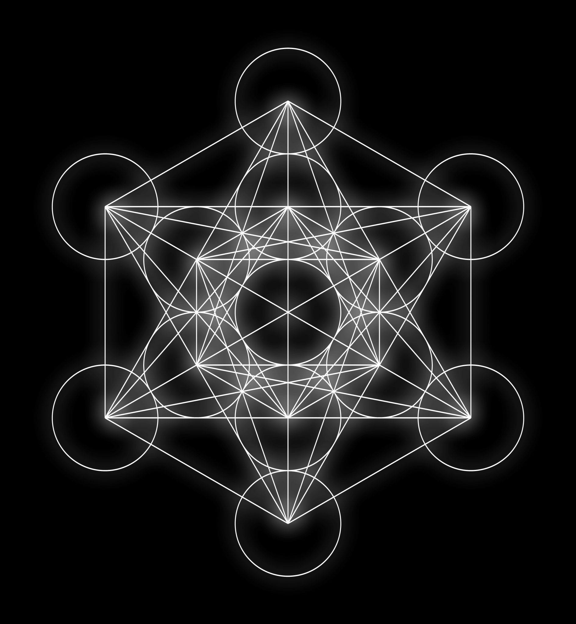 metatron's cube, sacred geometry, crystals, third eye,
