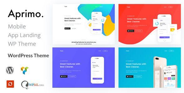Aprimo v1.3 - Mobile & App Landing WordPress Theme