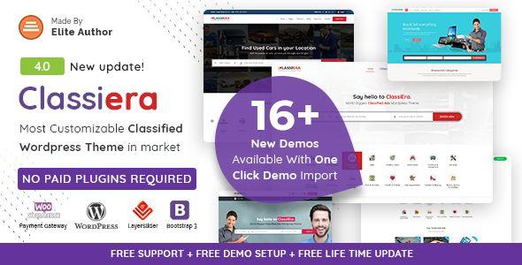 Classiera v4.0.2 - Classified Ads WordPress Theme