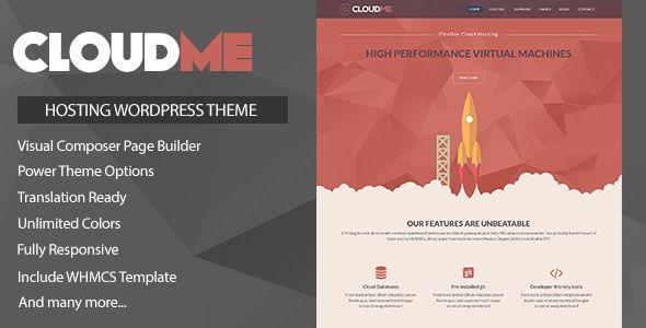 Cloudme Host v1.1 - WordPress Hosting Theme + WHMCS