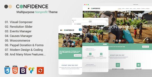 Confidence v3.2.2 - Multipurpose Nonprofit Theme
