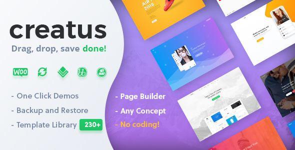 Creatus v1.1.2 - Ultimate Multipurpose WordPress Theme