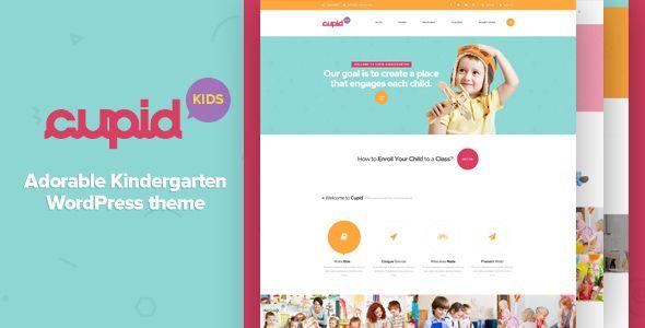 CUPID v1.4 - Adorable Kindergarten WordPress Theme