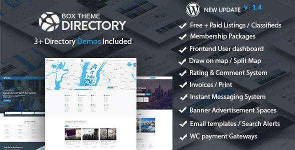 Directory v1.4 - Multi-Purpose WordPress Theme
