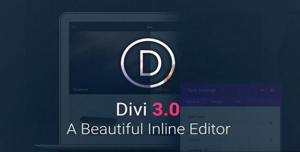 Divi v3.1 - Elegantthemes Premium WordPress Theme
